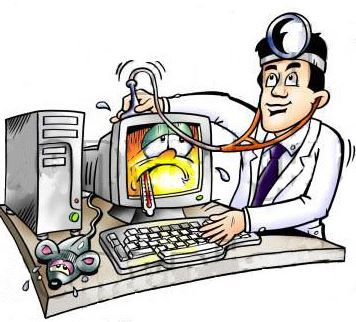Компьютерная помощь при торможении компьютера