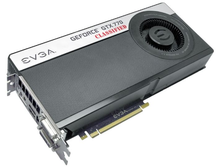 EVGA представили информацию о 3-х видеокартах GeForce GTX 770