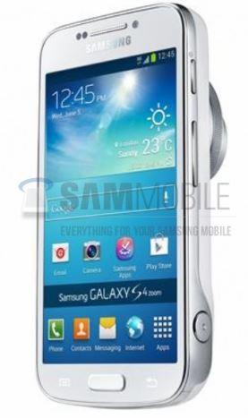 В Сети появились первые живые фото Galaxy S4 Zoom