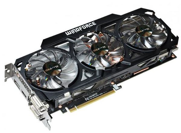 Видеокарта Gigabyte GeForce GTX 770 WindForce 3X OC