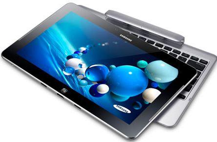 Samsung смогли совместить планшет и ноутбук