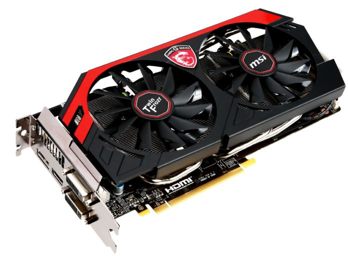 Новая видеокарта от MSI - GeForce GTX 780 Gaming