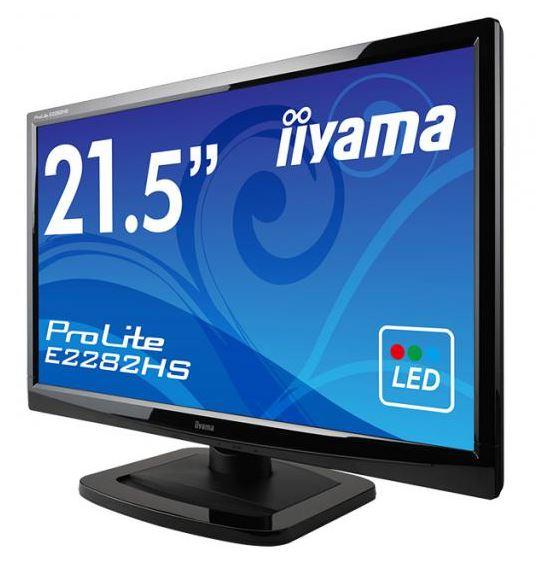 iiyama представили монитор ProLite E2282HS с диагональю 21.5'