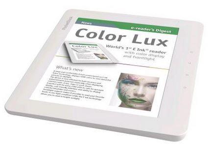 Еще одна новинка от PocketBook – электронная книга Color Lux