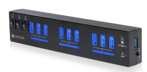 Satechi выпустили USB хаб с 10 портами USB 3.0