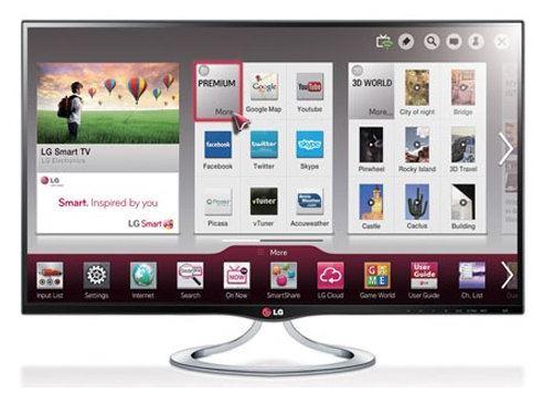 Южно-корейский производитель представил телевизор LG MT93 Personal Smart TV