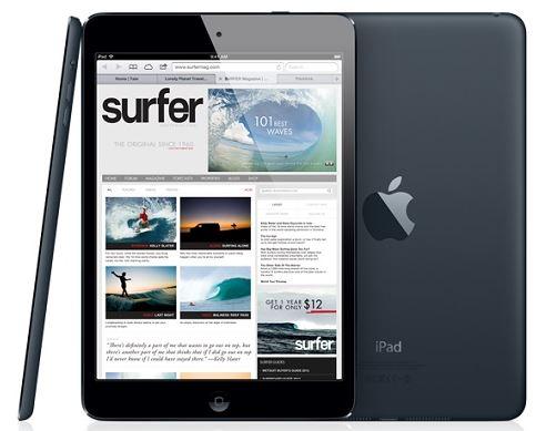 Обновленная модель Apple iPad mini должна появиться на рынке 3-ем квартале