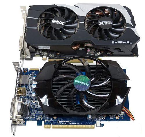 Видеокарты Radeon HD 7790 от Sapphire и Gigabyte