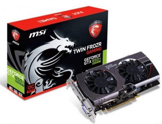 Стали известны характеристики видеокарты MSI GeForce GTX 650 Ti Boost
