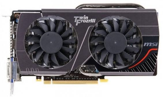 Новая видеокарта MSI GeForce GTX 650 Ti Boost