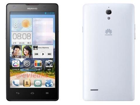 Первые данные о смартфоне Huawei Ascend G700