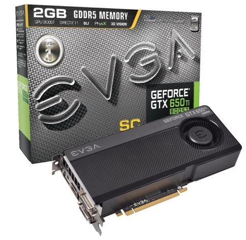 Компания EVGA представили новую видеокарту GeForce GTX 650 Ti Boost