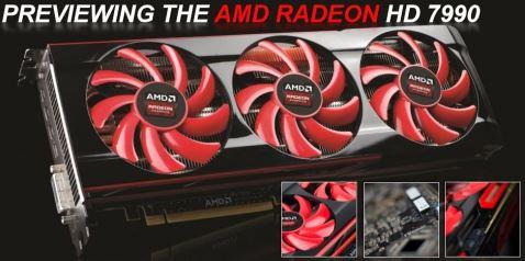 """На конференции GDC 2013 представлена 2-х ядерная видеокарта AMD Radeon HD 7990 """"Malta"""""""