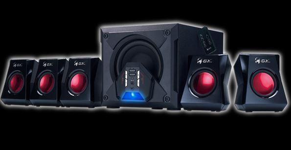 Компания Genius выпустили акустику SW-G5.1 3500 для геймеров