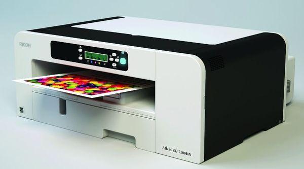Ricoh SG7100DN пополнил линейку гелевых принтеров компании