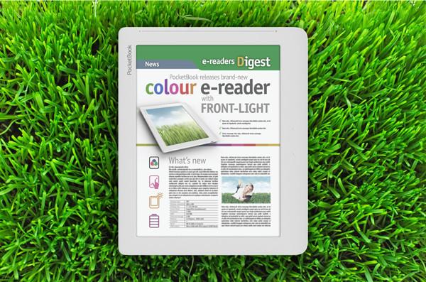 PocketBook рассказала о первом в мире ридере с экраном E-Ink Triton второго поколения