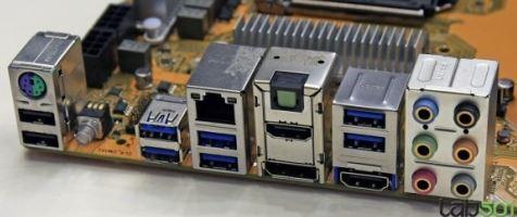 Порты материнской платы MSI Z87A-GD65