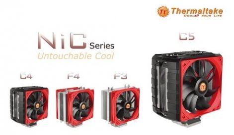 Объявлено о выходе серии кулеров Thermaltake NiC