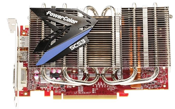 PowerColor представили вариант Radeon HD 7850 с пассивной системой охлаждения
