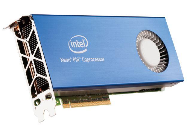В мае Intel анонсируют 5 новых ускорителей Xeon Phi