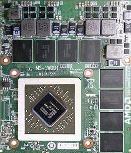Мобильная графика AMD Radeon HD 8970M