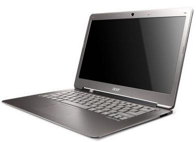 Acer активно продвигают ноутбуки с сенсорными дисплеями