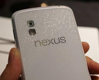 На 10 июня намечен выход Nexus 4 белого цвета
