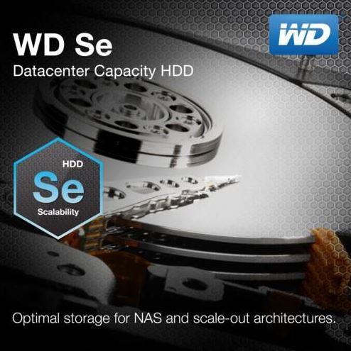 Western Digital представили новую линейку жестких дисков Se