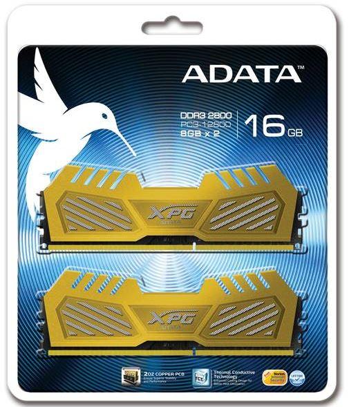 ADATA выпустили модули памяти XPG V2