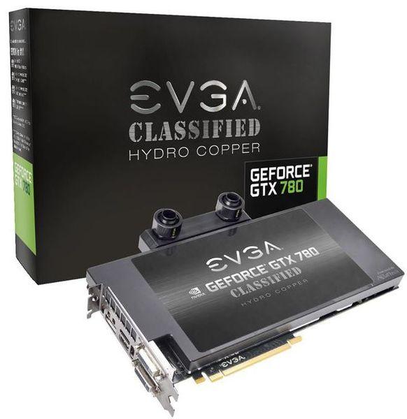 Видеокарты EVGA GTX 780 Hydro Copper