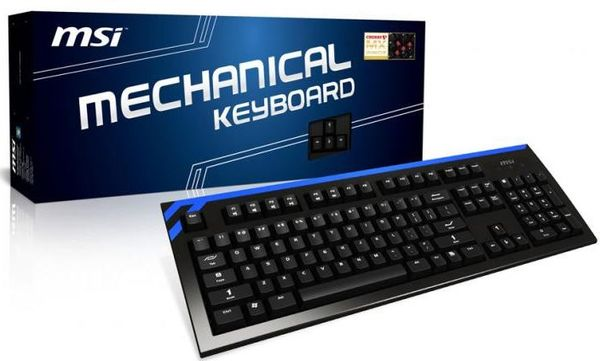MSI представили клавиатуру серии Classic