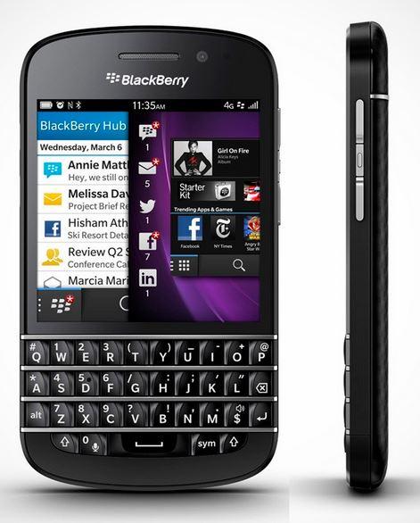 Новинка - BlackBerry Q10