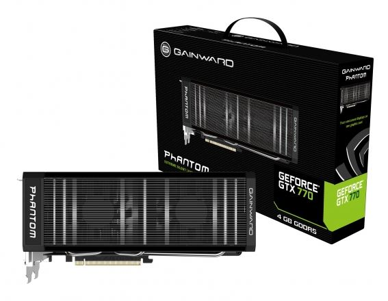 Видеокарта Gainward GeForce GTX 770 Phantom 4 Гб
