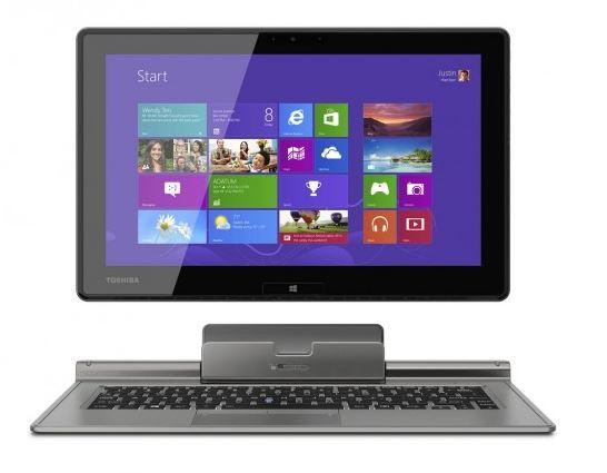 Toshiba представили помесь ультрабука и планшета Portege Z10t