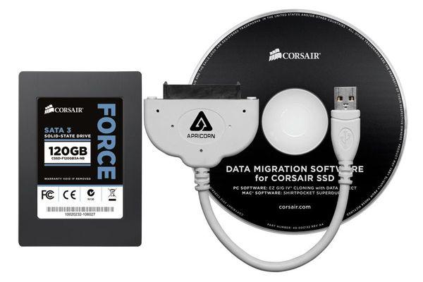 Клонировать SSD диски Corsair станет легче