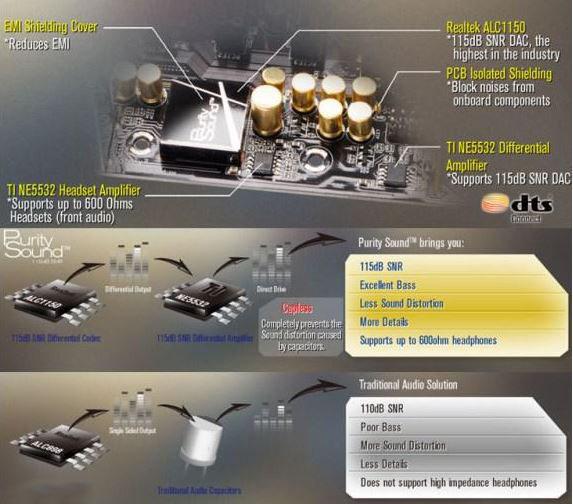ASRock представили новую технологию для улучшения качества звука