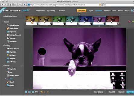 Adobe обновили свой фоторедактор Photoshop Express под операционную систему Windows 8.1