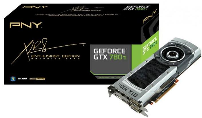 PNY выпустили новый графический адаптер GeForce GTX 780 Ti
