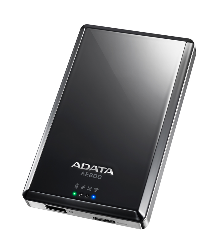 Новый беспроводной жесткий диск ADATA DashDrive Air AE800