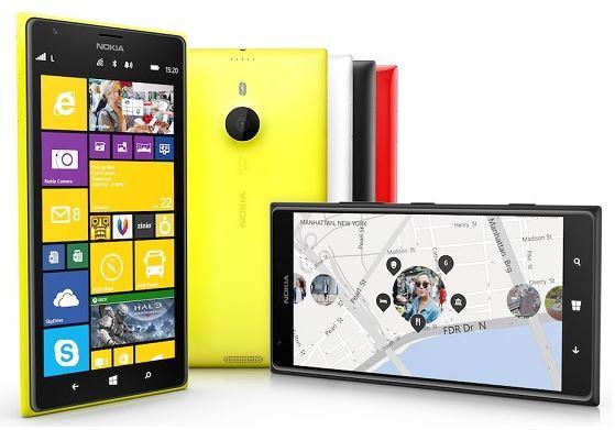Официально представлен планшетофон Nokia Lumia 1520