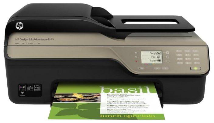 Хорошее устройство для офиса Deskjet Ink Advantage 4625 от компании HP