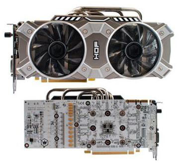 KFA2 представили видеокарту GeForce GTX 780 HOF