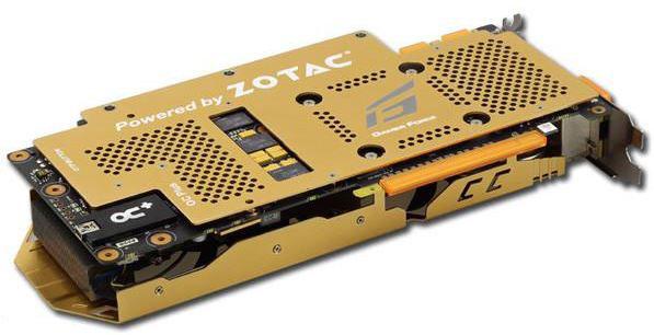 Видеокарта Zotac Golden GTX 760 Extreme Edition