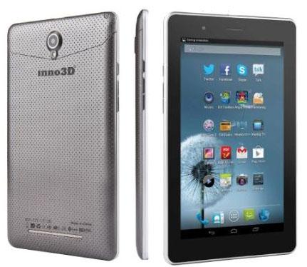 Компания Inno3D выпустили планшет Pad7 3G с двумя SIM-картами