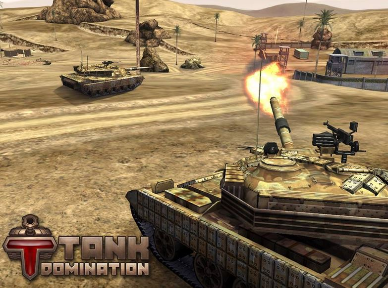 Игра Tank Domination обзавелась новым сайтом
