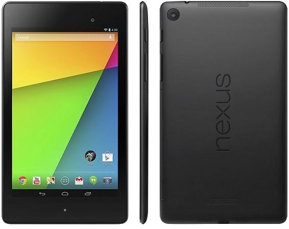 Завтра в России стартуют продажи планшета Nexus 7