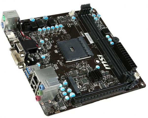 MSI представили новую материнскую плату AM1I под процессоры AM1