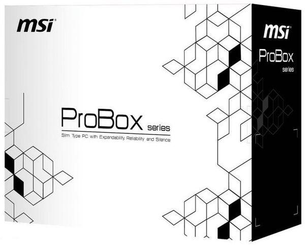 MSI представили баребоне систему ProBox23