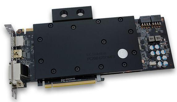 EKWB представили водоблок для видеокарт Gigabyte GTX 780 и GTX 780 Ti WindForce 3X