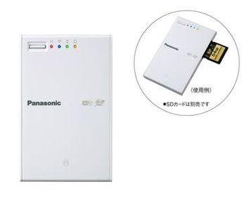 Panasonic представили беспроводной картридер BN-SDWBP3